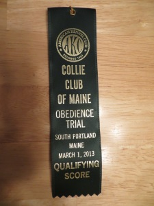 "Standard qualifying or ""Q"" ribbon"